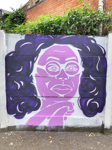 street art @ graffitiwall Brugbergpad Kessel-Lo