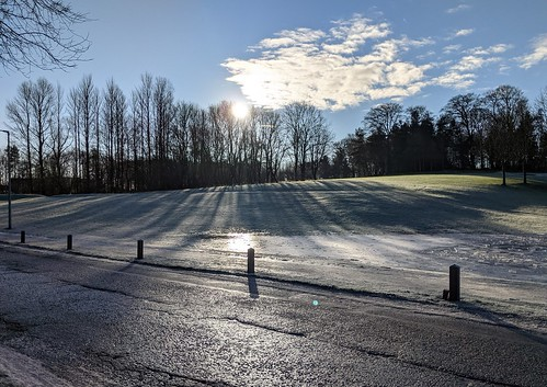 Icy Balbirnie Park