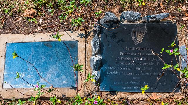 British and Irish Plaques,  Dag Hammarskjöld Memorial Crash Site, Ndola