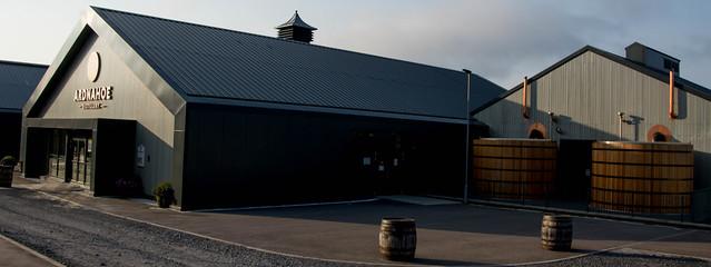 The newish Ardnahoe Distillery