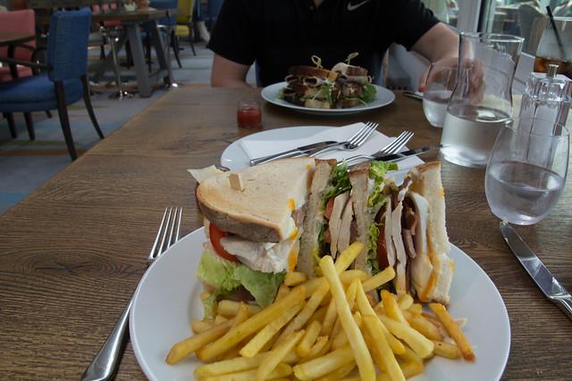 No way I'll eat all that - but I'll have a go!