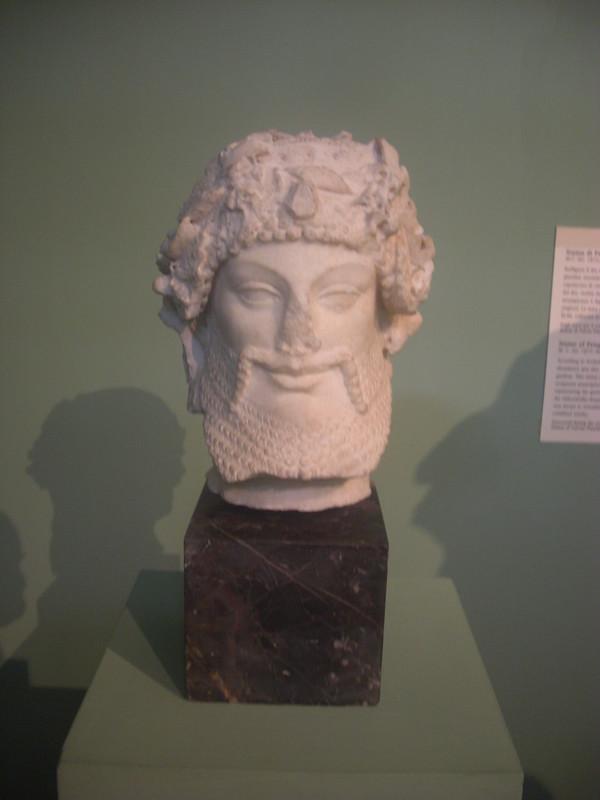 Head of Priapus
