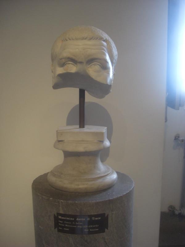 Head of Maximinus Thrax