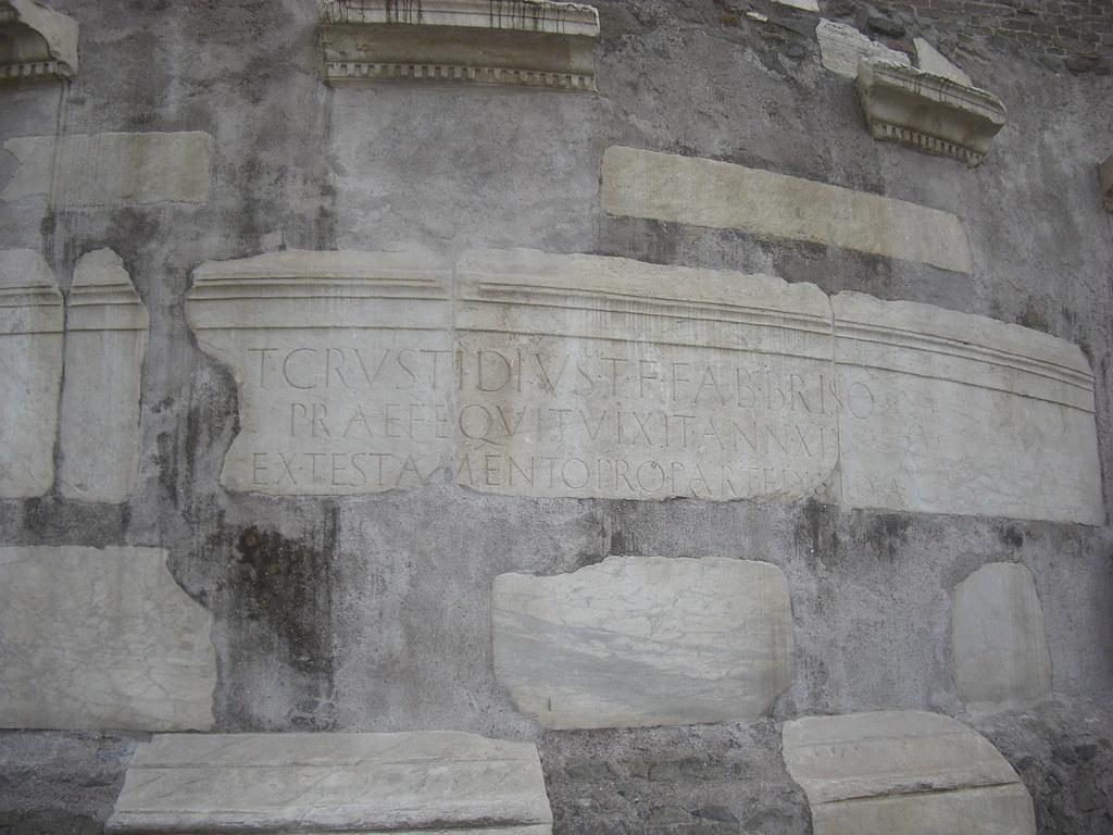 Spolia Inscription