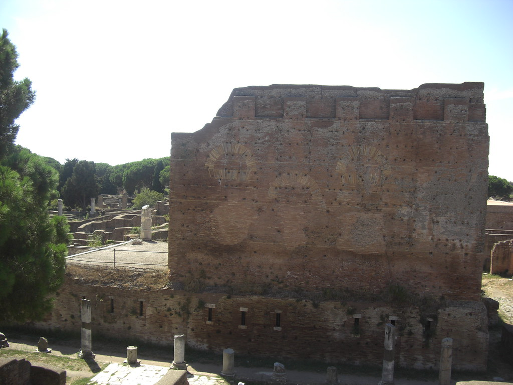 Side View of the Capitolium