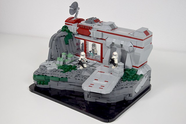 Republic 91st Recon Corps Outpost - LEGO Star Wars MOC