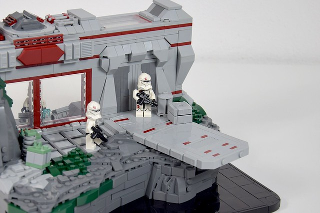 LEGO Star Wars Republic Outpost in the Mountains