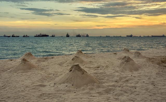 Castle Beach Sunset