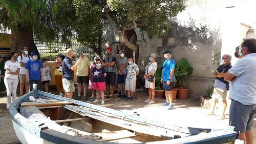 Visita del centre La Sínia de la Fundació Santa Teresa