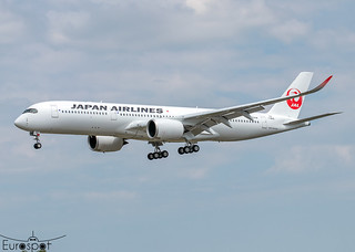 F-WZGD / JA11XJ Airbus A350-941 Japan Airlines s/n 535 - First flight * Toulouse Blagnac 2021 *