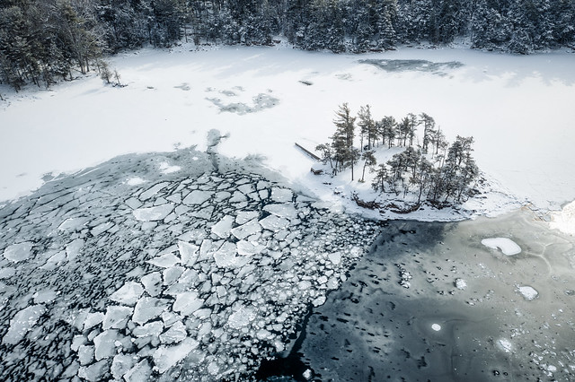 Small Island and Ice Floe