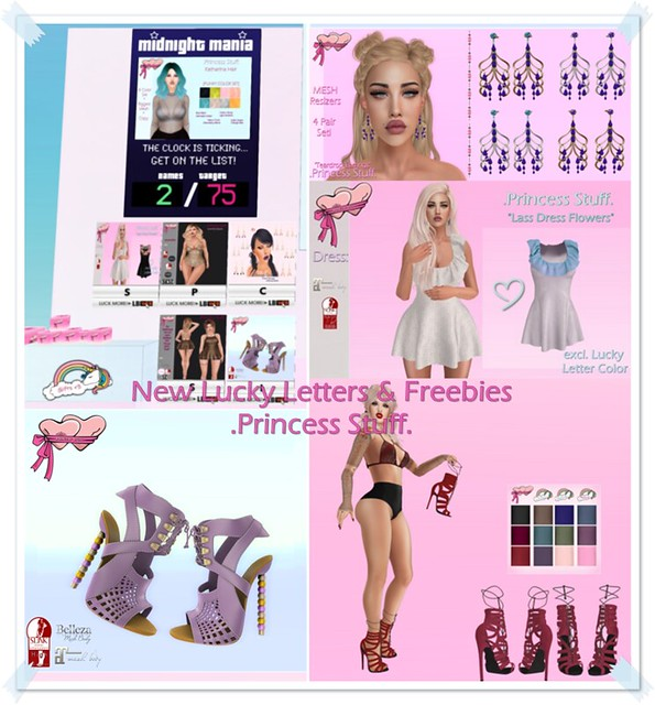.Princess Stuff. New Lucky Letters & Gifts