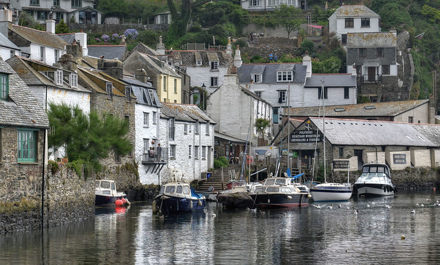 Inner harbour, Polperro, Cornwall