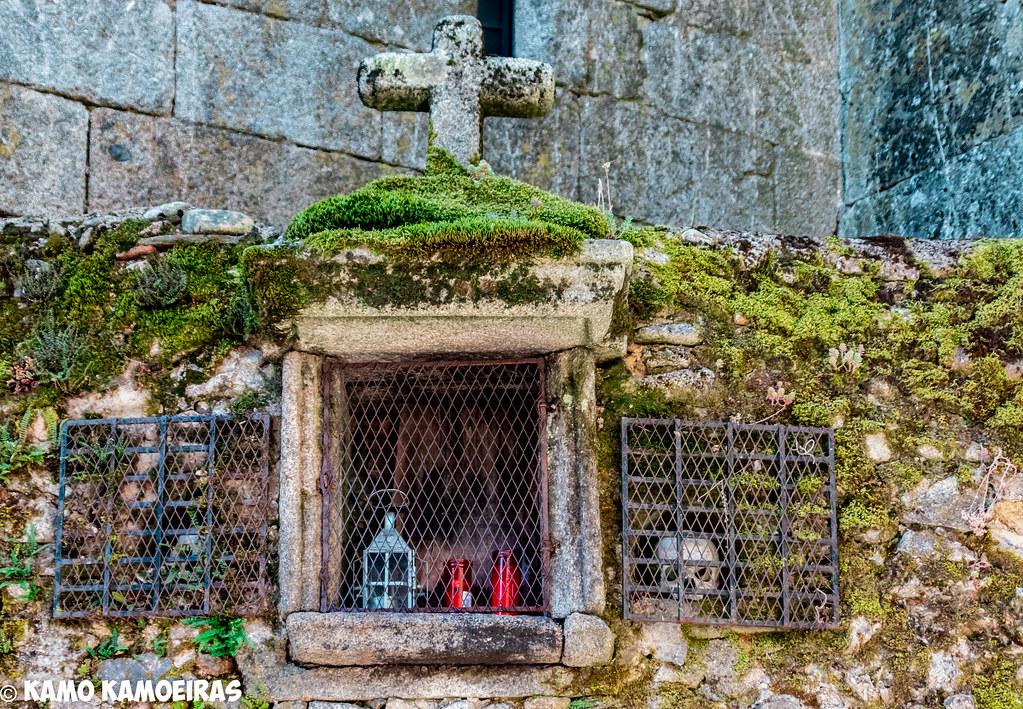 altar de las animas, iglesia de La Alberca