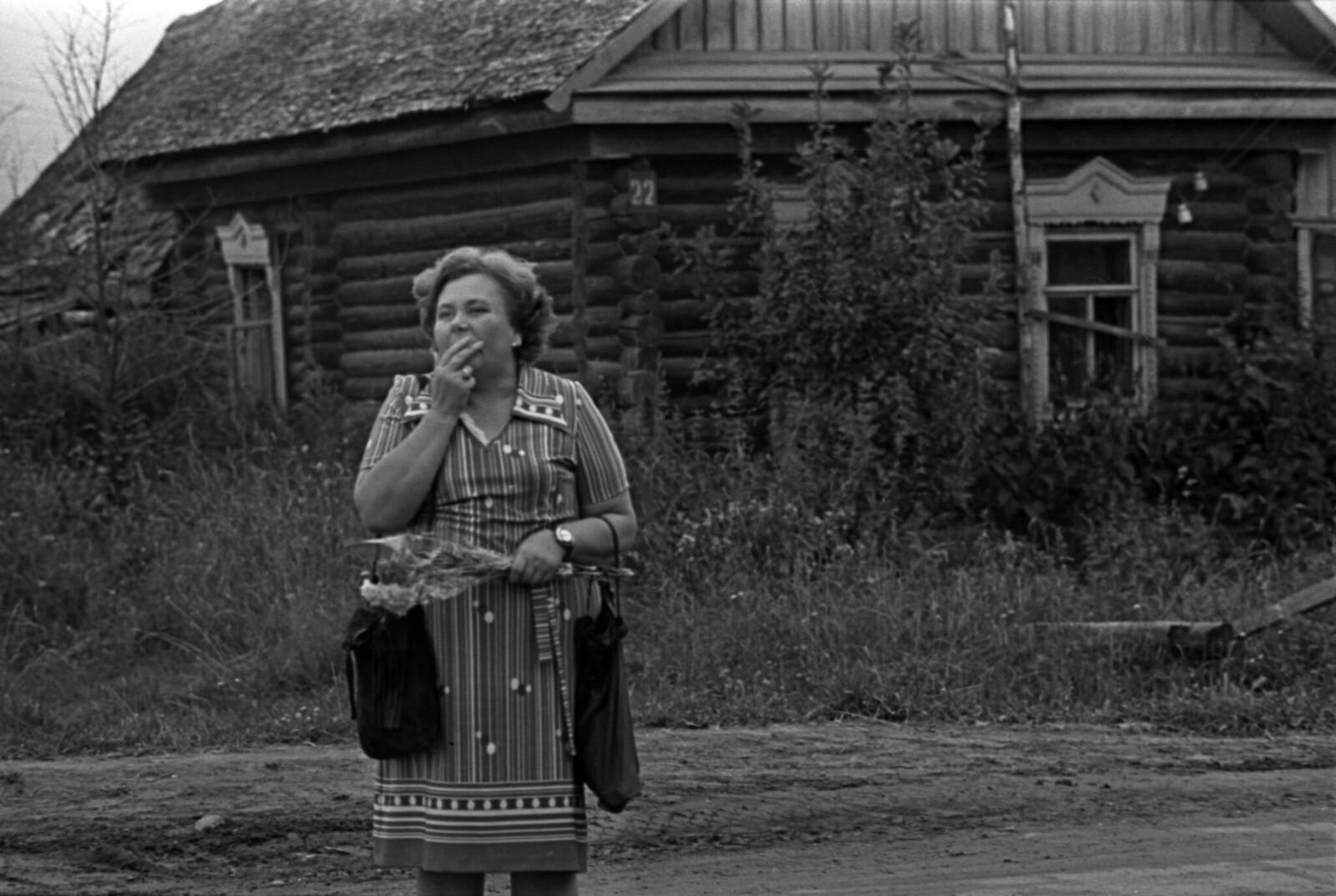 1974. Лидия Борисовна Либединская на блоковском празднике в Шахматове