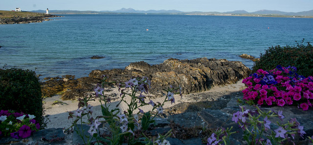 View from Port Charlotte over Loch Indaal