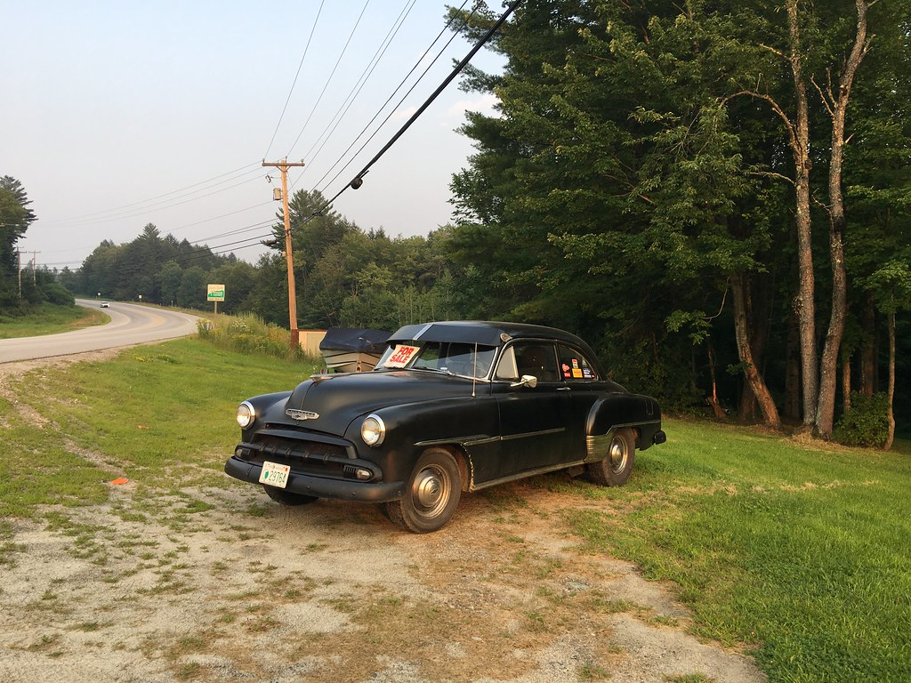 Chevy Coupe, Kellyville, NH