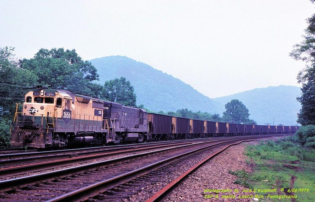 CR 3656-2776, XSF-3, MP126, Losh's Run, PA. 6-08-1979