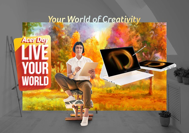 ConceptD for Acer Day 2021 'Live Your World'