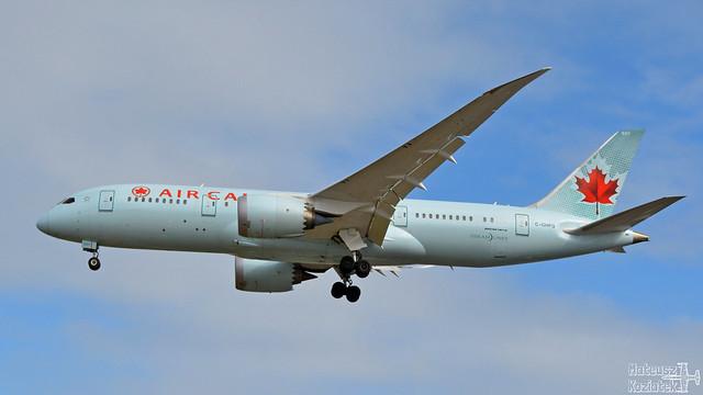 Air Canada 🇨🇦 Boeing 787-8 Dreamliner C-GHPQ