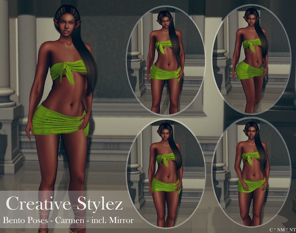 Creative Stylez – Bento Poses – Carmen –