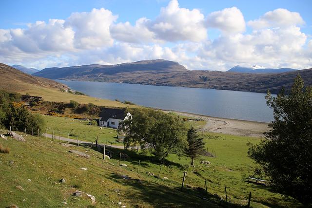 Loch Broom from Rhue