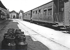 Passenger stock at San Feliu