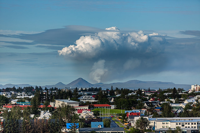 Smoke from the Volcano