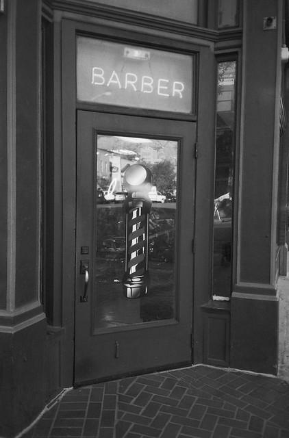 Moore's Barbershop on 25th Street - Ogden, Utah.