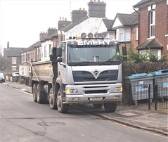 Lost-Albion posted a photo:A12KFE, new in 2002, in Victoria Street, Dunstable. It has been untaxed since January 2021.