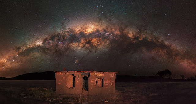 Milky Way at Gillingarra, Western Australia