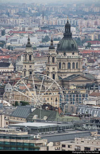 View from Gellérthegy, Budapest, Hungary