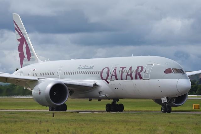 A7-BCU Qatar Airways