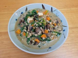 Mushroom Miso Barley Soup