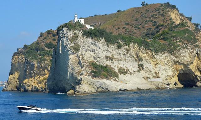 Doubling Cape Miseno (Naples). For my dear Friend Elisabetta (MEP's Art)