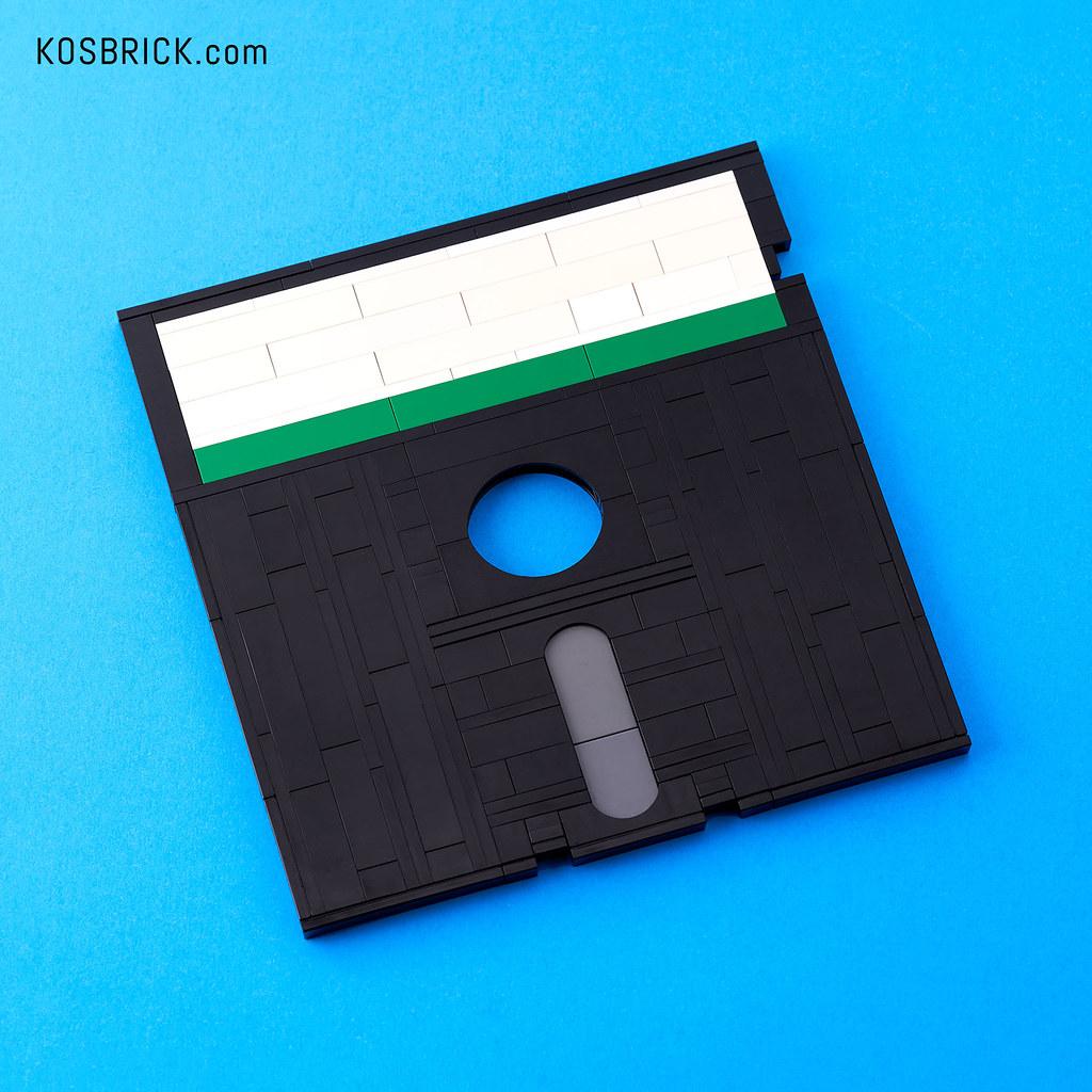 LEGO Floppy Disk 5.25 inch