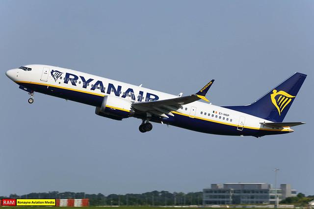 EI-HGP | Boeing 737-8-200 MAX | Ryanair