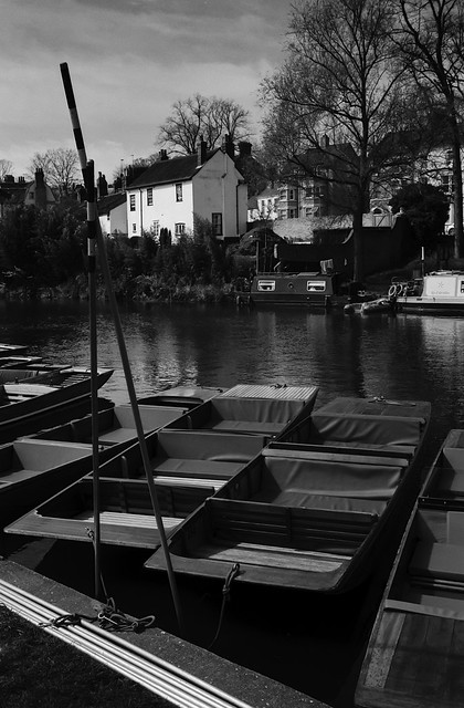 Punts, poles and house