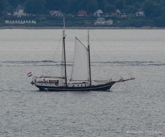 Dutch schooner Abel Tasman in Öresund
