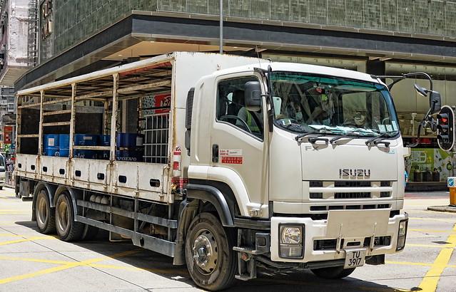 Hong Kong Transport - Trucks | TU 3917