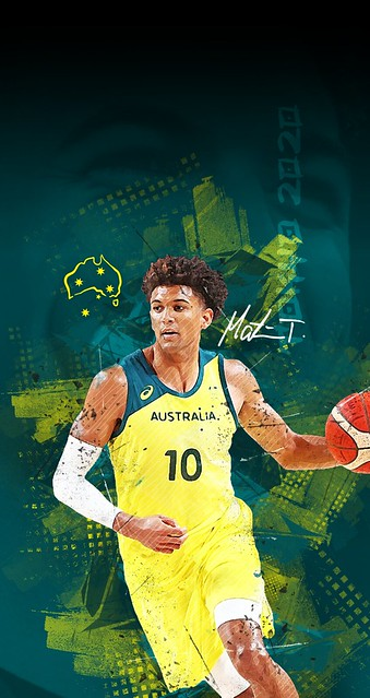 Matisse Thybulle (Tokyo 2020) iPhone 6/7/8/SE Wallpapers