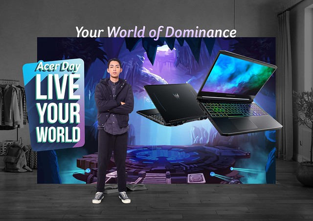 Predator for Acer Day 2021 'Live Your World'