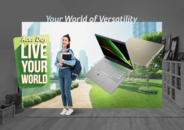 Acer Aspire for Acer Day 2021 'Live Your World'