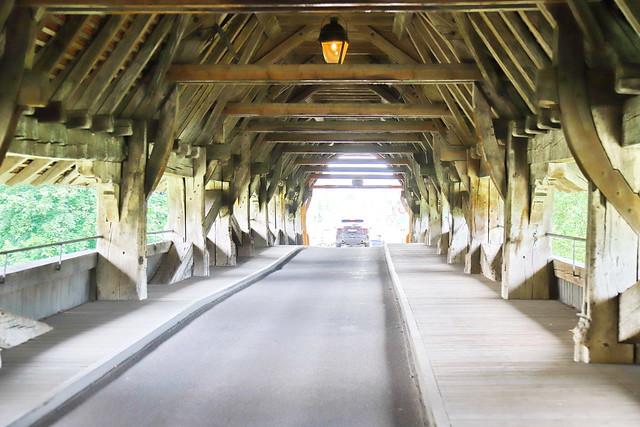Holzbrücke in Aarberg BE 12.6.2021 1309