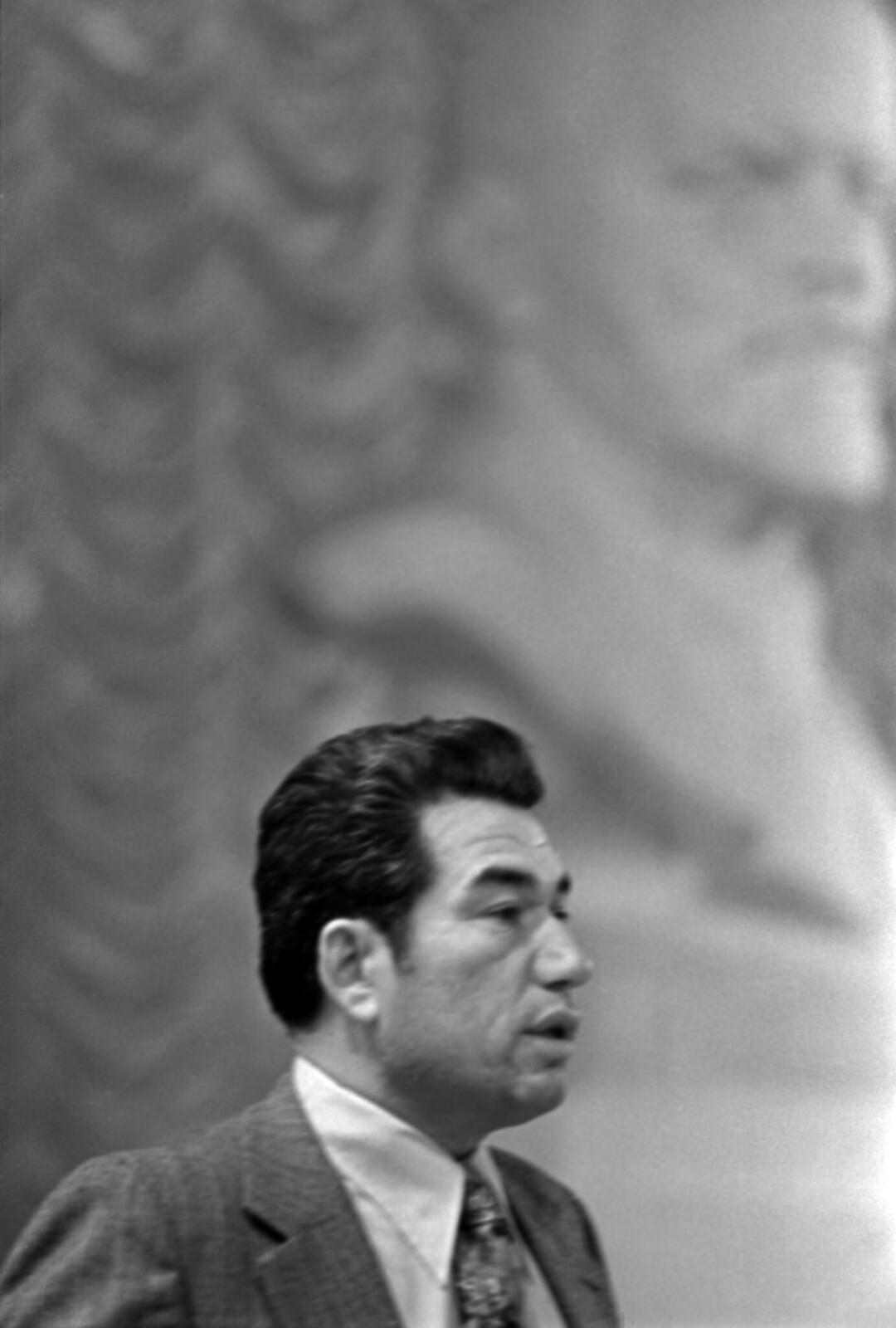 1975. Вечер Расула Гамзатова в Колонном зале Дома Союзов, Чингиз Айтматов