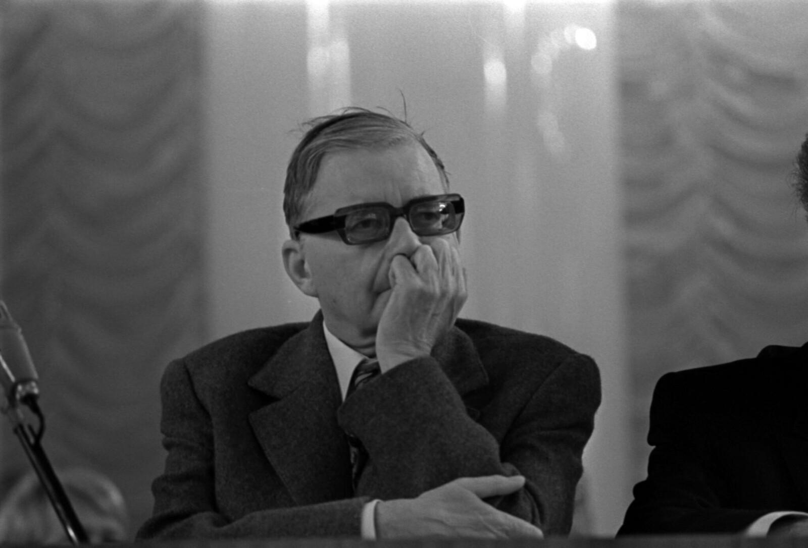 1972. Съезд Союза композиторов СССР в Колонном зале Дома Союзов Дмитрия Шостаковича