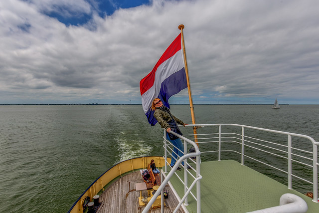 Sailing out / In The Netherlands
