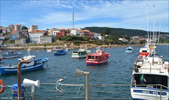 Puerto pesquero de Finisterre