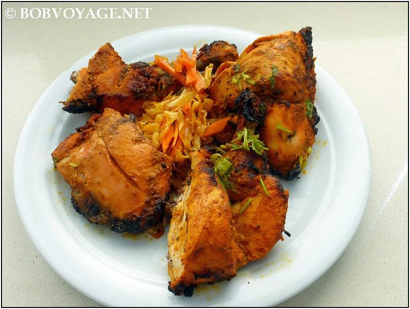 טנדורי צ'יקן – Tandoori Chicken (60 ₪) מ- Gorkha Kitchen