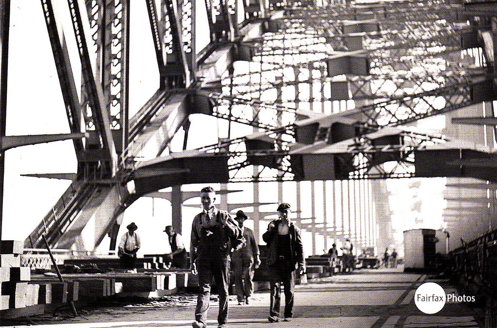 11# Sydney Harbour Bridge.